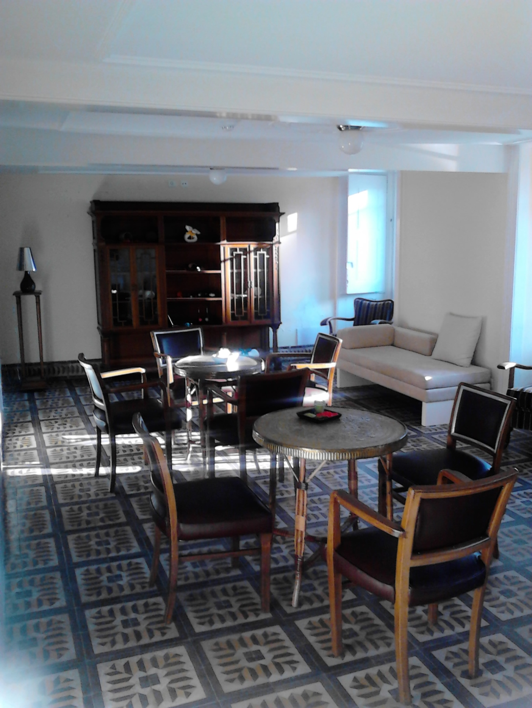 Sala de estar do Hotel Palace da Curia