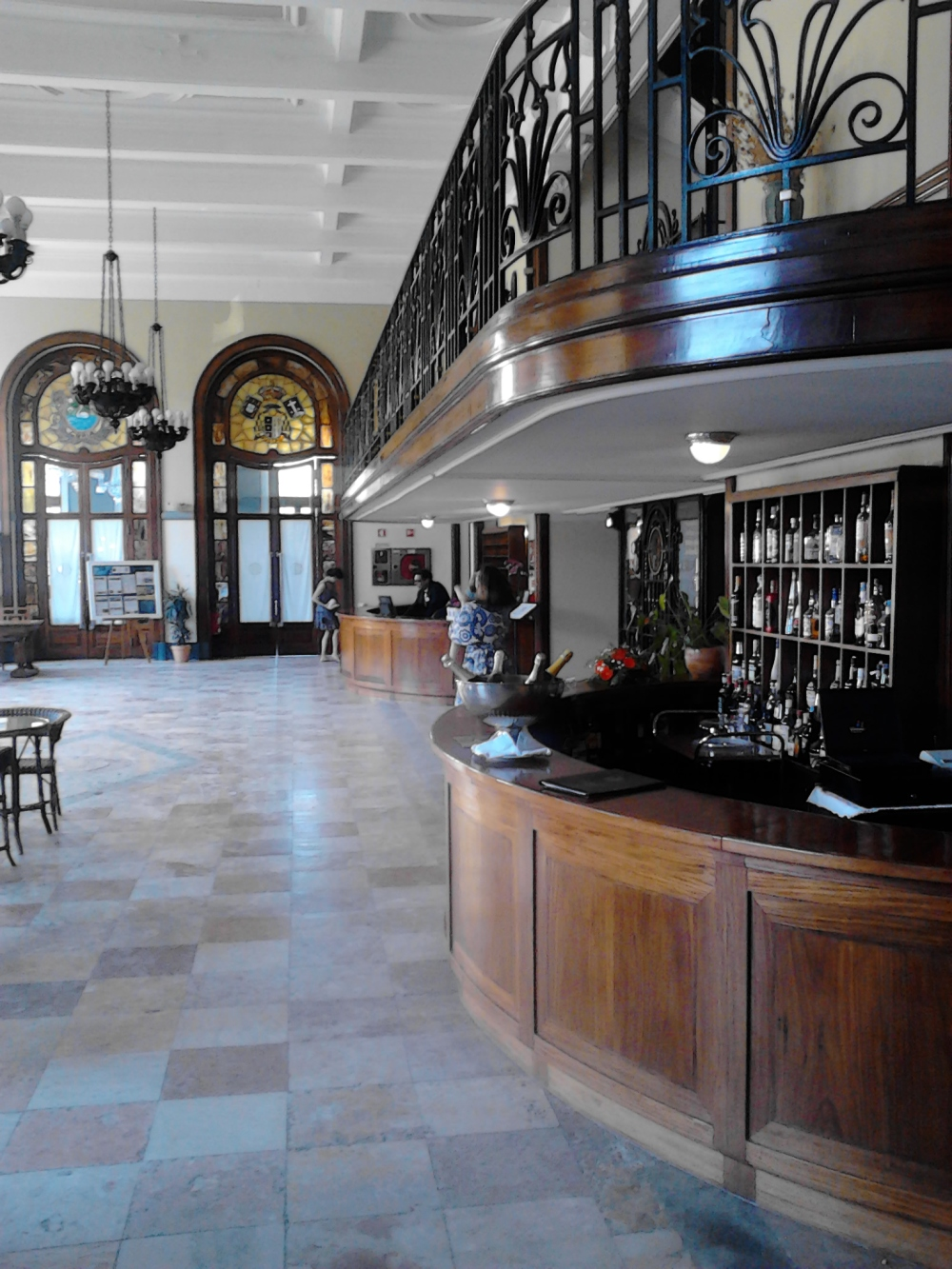 Bar do Hotel Palace da Curia