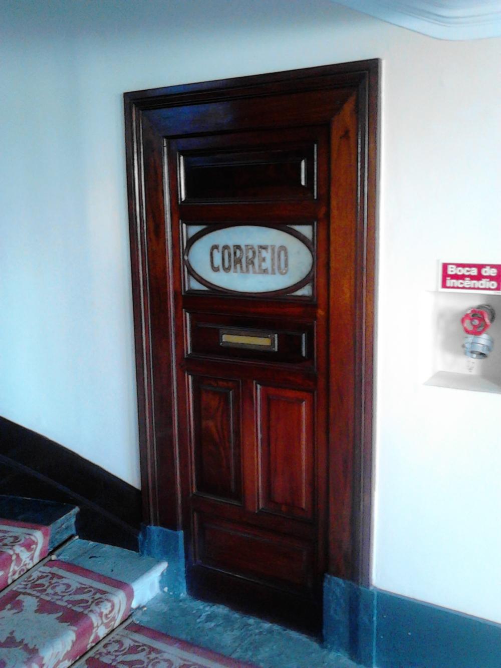 Antigos correios do Hotel Palace da Curia