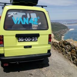 Rota das praias da Arrábida com a Van42